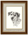 Portrait of the Super-awesome Pup – The Pet Portrait Artist gets the Commission of herDreams.