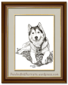 Presenting the Portrait of Her Furry Majesty, Ms. Khyra of Pennsylvania!